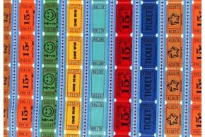Tickets blauw