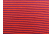 Strepen oranje/paars