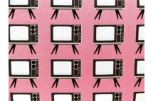 Old fashion TV Hot Pink
