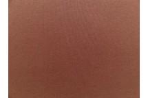 Effen tricot  donker bruin