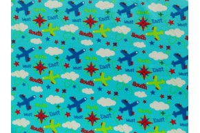 Take off blue coupon 100cm