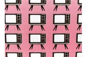 Old fashion TV Hot Pink coupon 100cm